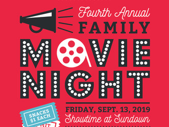 CHOA 4th Annual Movie in the Park!