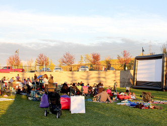 Crestmont Homeowners' Association Annual Movie in the Park