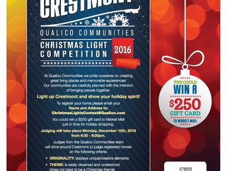Light Up Crestmont - Qualico Communities Light Up Competition