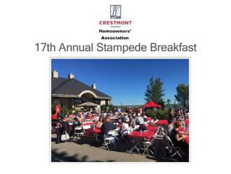 Stampede Breakfast Event Summary