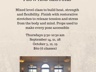 Yoga at Crestmont Hall