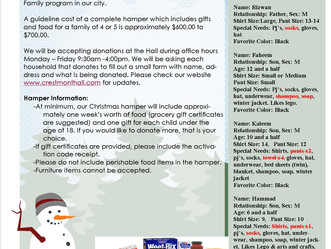 Your HOA is still accepting donations! Please see below our updated list,