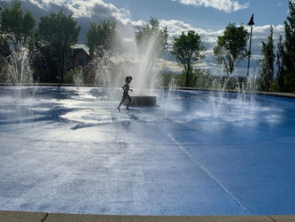Crestmont Spray Park is officially open for the season!