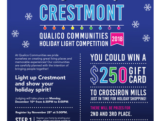 Qualico Communities Holiday Light Competition