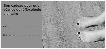 Chèque cadeau Réflexologie plantaire au cabinet Ness Harmonie à St Martin du Fouilloux
