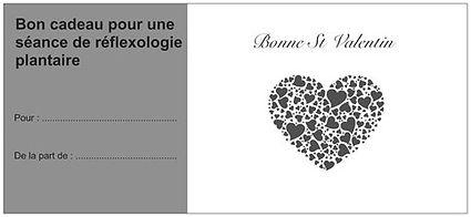 Chèque cadeau réflexologie plantaire pour la st valentin à angers, st martin du fouilloux