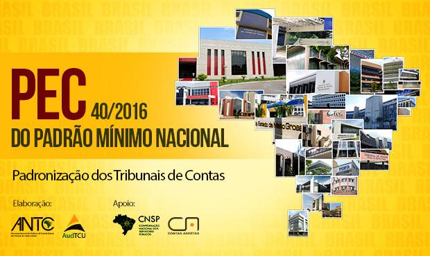 PEC 40/2016 do padrão mínimo nacional - Padronização dos Tribunais de Contas - Blog da Selene