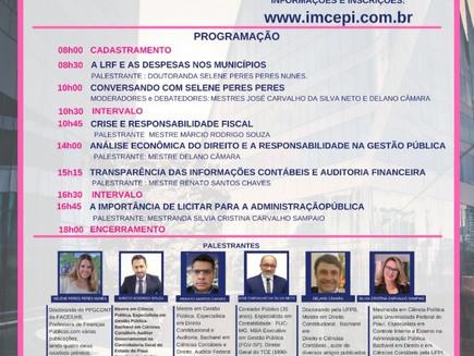 Seminário: Responsabilidade na gestão pública