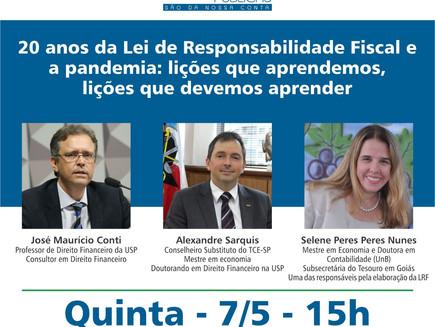 20 anos da Lei de Responsabilidade Fiscal e a pandemia: lições que aprendemos, lições que devemos ap