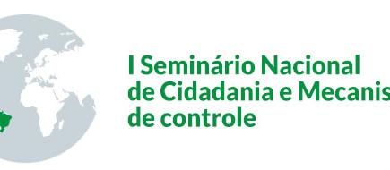 I Seminário Nacional de Cidadania e Mecanismos de Controle: Governança Pública, Custos e Controle So