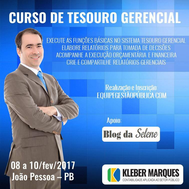 CURSO DE TESOURO GERENCIAL - Kleber Marques