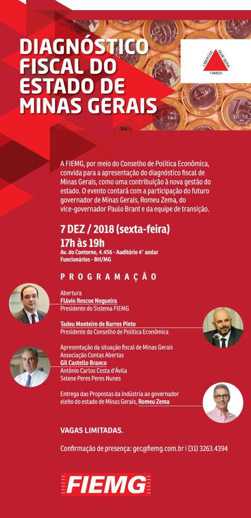 Diagnóstico Fiscal do Estado de Minas Gerais
