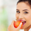 A healthy lifestyle contributes to good oral health