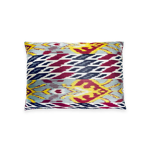 Hand Embroidered Accent Cushion Mongolia