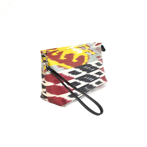 SILK IKAT CLUTCH