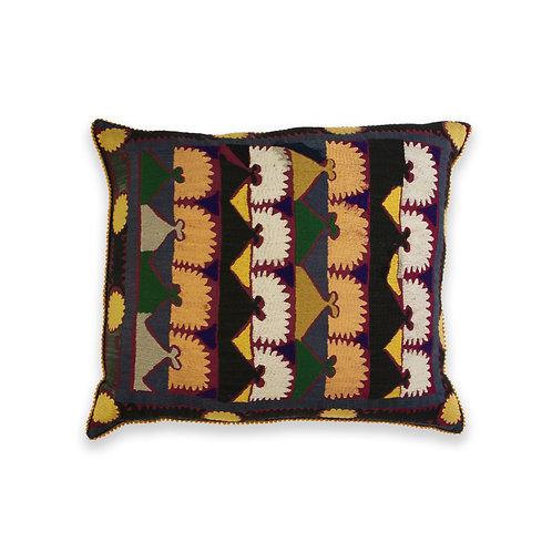 Hand Embroidered Accent Cushion, Uzbekistan