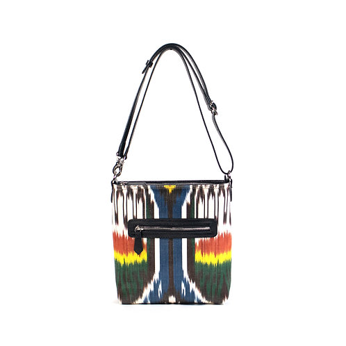 SILK IKAT HANDBAG