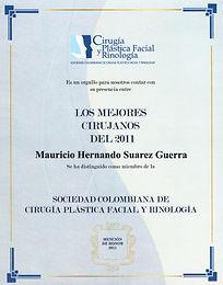 Mejor Cirujano 2011