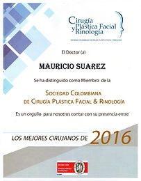Mejor Cirujano 2016