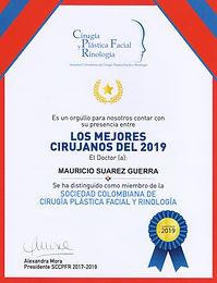 Mejor Cirujano 2019