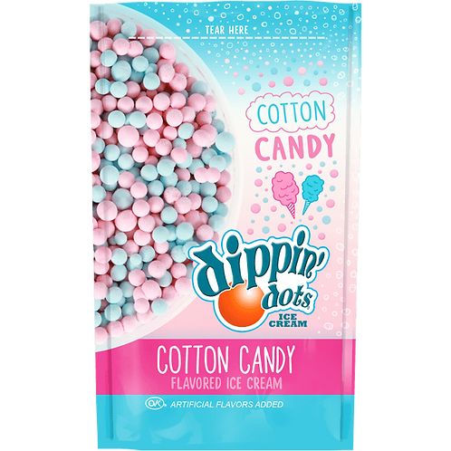 1 case of Cotton Candy - Pouches 24 pack