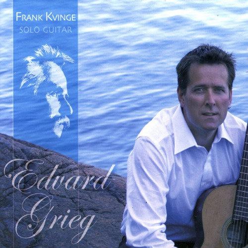 Frank Kvinge Solo Guitar - Edvard Grieg (CD)