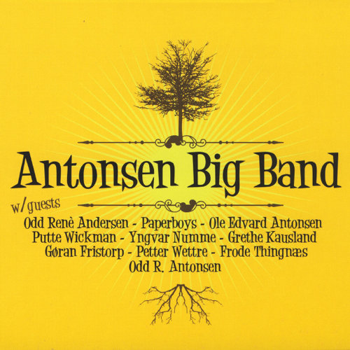 Antonsen Big Band - With Guests (CD)