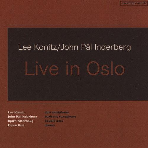 Lee Konitz/John Pål Inderberg - Live in Oslo (CD)
