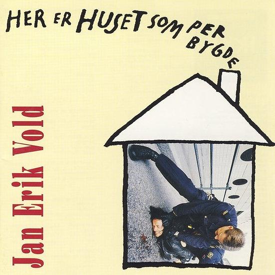 Jan Erik Vold - Her er huset som Per bygde (CD)