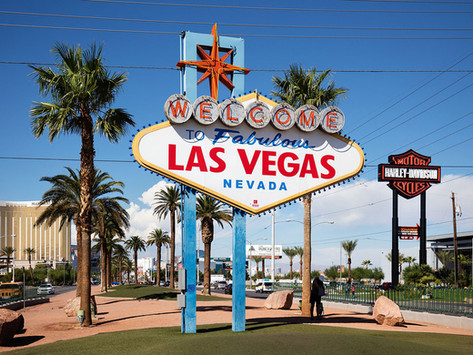 How Las Vegas was designed (or at least it's famous sign)