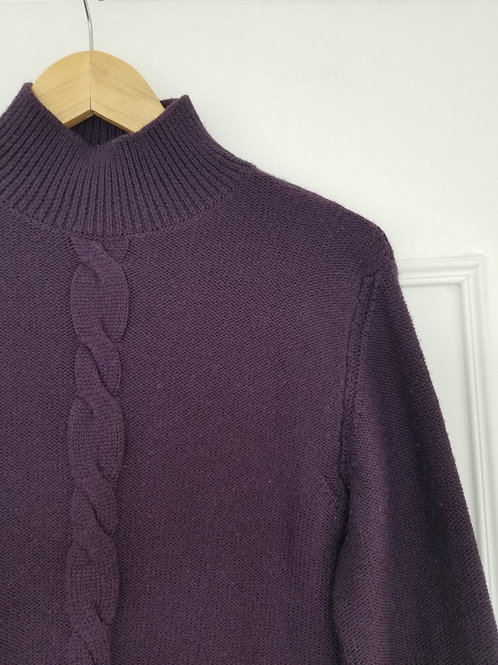Le sublime pull lilas