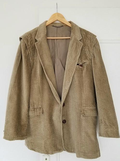 La belle veste côtelée