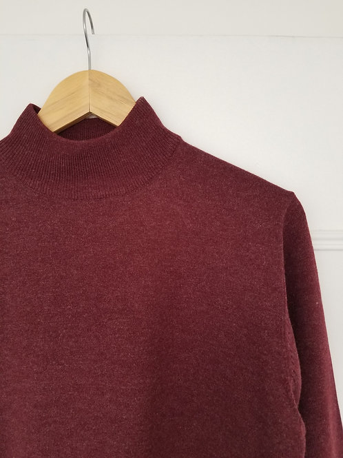 Le beau pull col montant