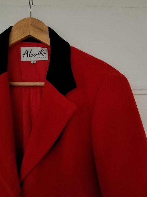 Le sublime manteau en laine