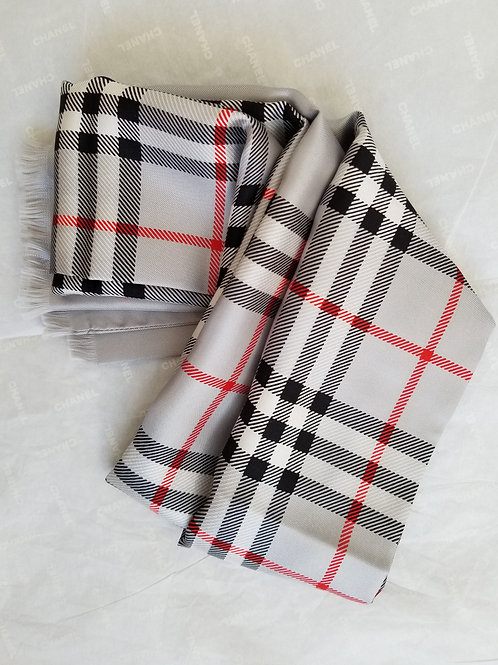 L'unique foulard Burberry