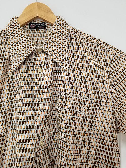 La belle chemise motif géométrique