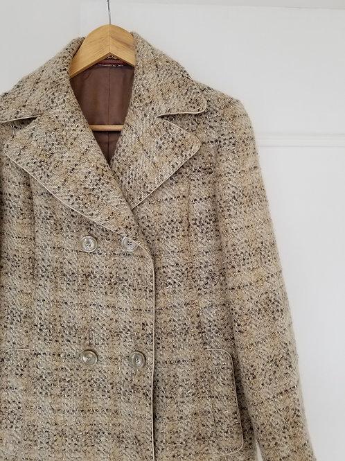 Le beau manteau en laine