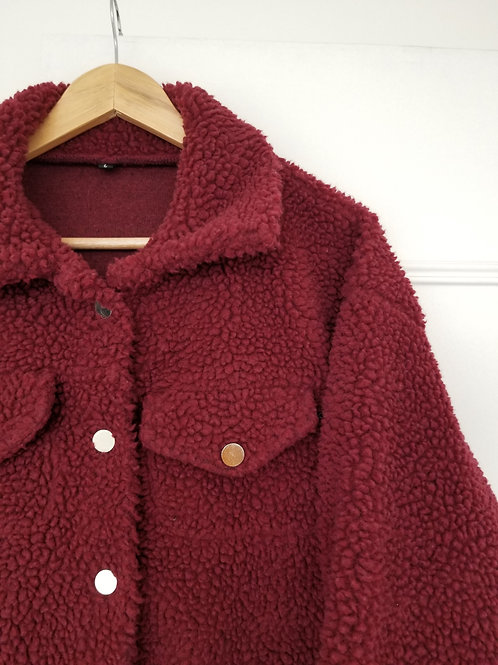La douce veste style sherpa