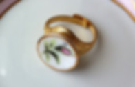 Free Designer Ring Gold / White From Sistalk.co.uk