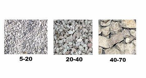 доломитовый щебень 5-20 20-40 40-70