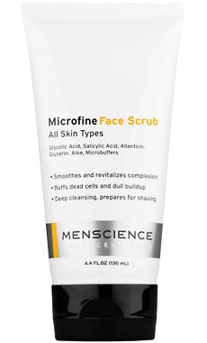 MenScience Microfine Face Scrub