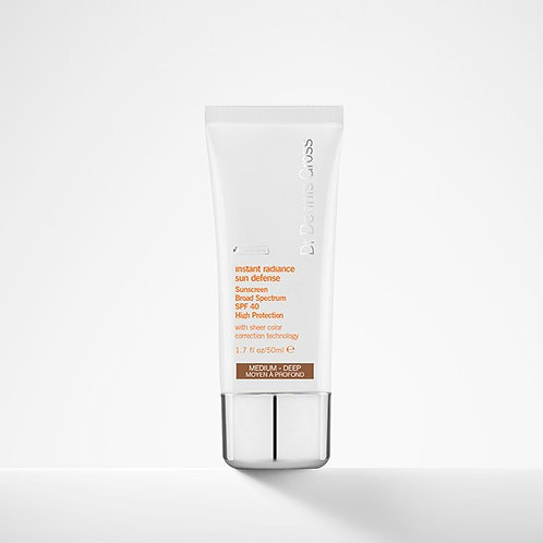 Dr. Dennis Gross Instant Radiance Sun Defense Sunscreen SPF 40 (Medium-Deep)
