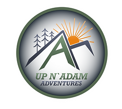 Up N Adam logo Lwr Letters Circle vignet