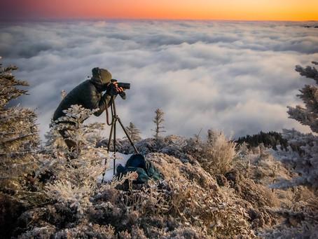 The Frozen Inversion (Sunrise Hike to Leconte via Rainbow Falls)