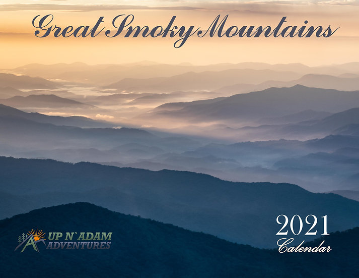2021 Smoky Mountain Calendar