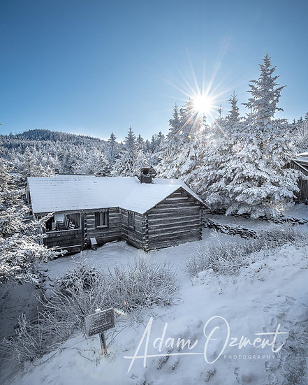 Winter at the Leconte Lodge