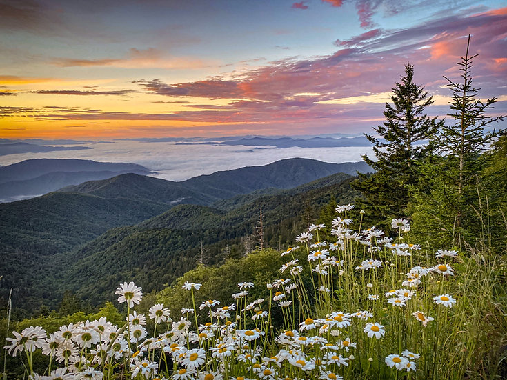 Sunrise from Clingmans Dome