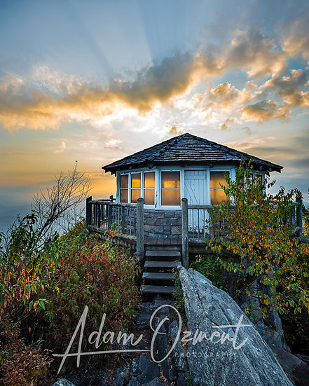 Sunrise at the Mt.Cammerer Fire Tower