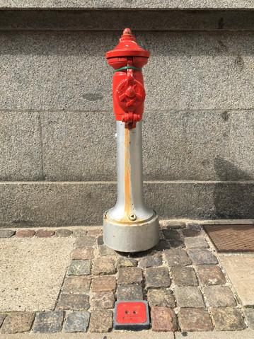 Fire Hydrant, Stutterigade, Copenhagen, August 12, 2017