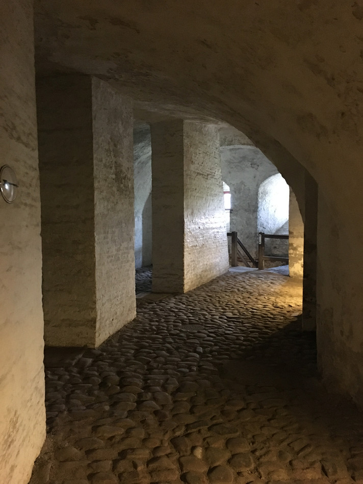 Catacombs, Kronbord Castle, Denmark, August 8, 2017